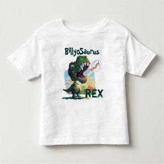 Little T Rex Painted T Shirts