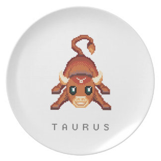 Little Taurus Dinner Plate