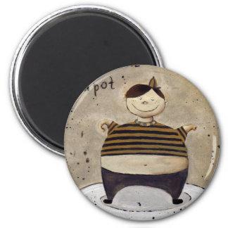 little tea pot magnet