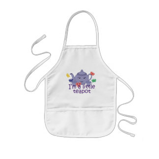 Little Teapot Kids' Apron