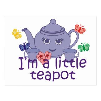 Little Teapot Postcard