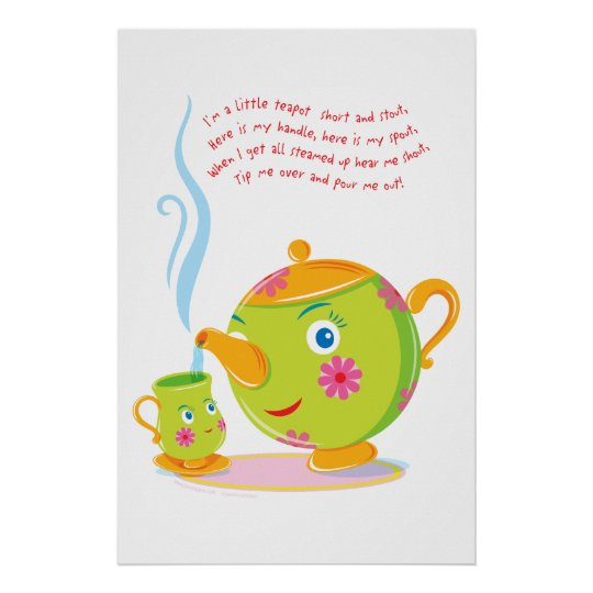 Little Teapot Poster