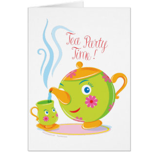 Little Teapot Stationery Note Card