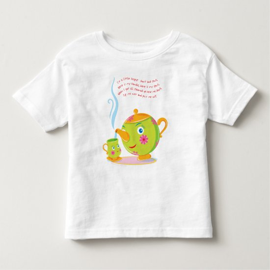 Little Teapot Toddler T-shirt