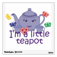 Little Teapot Wall Sticker