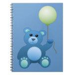 Little Teddy Bear Spiral Note Books