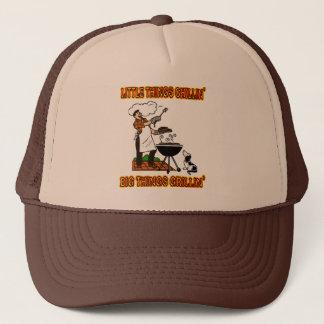 LITTLE THINGS CHILLIN' BIG THINGS GRILLIN' TRUCKER HAT