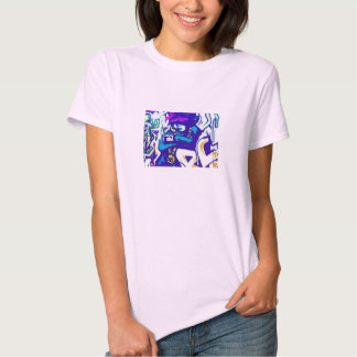 Little Thug Blue T-shirt