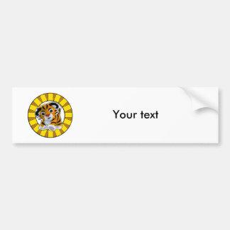 Little Tiger Bumper Sticker