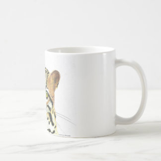 Little tiger (Leopardus tigrinus) Coffee Mug