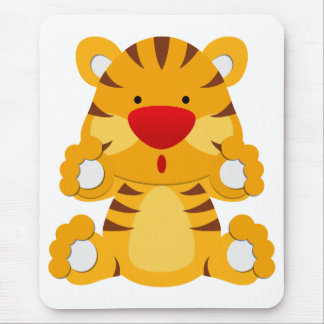 Little Tiger Mouse Pad
