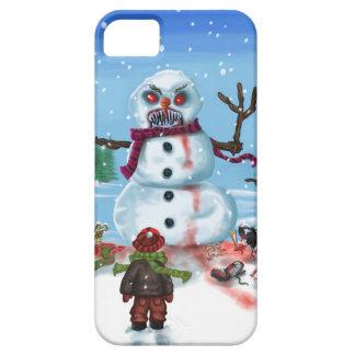 Little Timothys LAST Snowman iPhone SE/5/5s Case