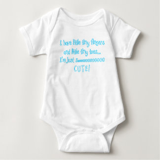 Little Tiny Fingers....I'm So Cute! Tees