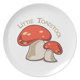 Little Toadstool Dinner Plate