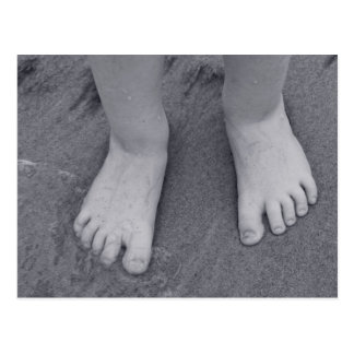 Little toes postcard