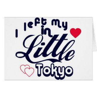 Little Tokyo Card