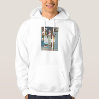 Little Tom Tucker Sings for his supper. Hooded Sweatshirts