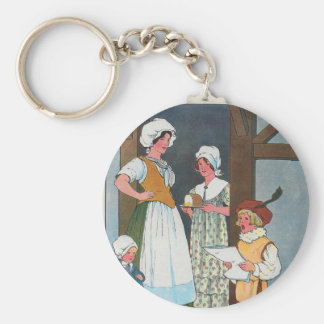 Little Tom Tucker Sings for his supper. Keychain