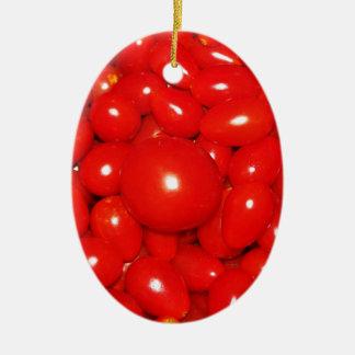 Little Tomatoes Ceramic Ornament