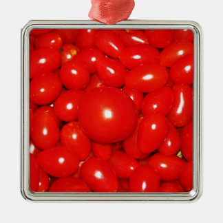 Little Tomatoes Metal Ornament