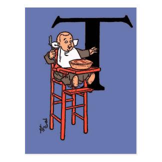Little Tommy Tucker Postcard
