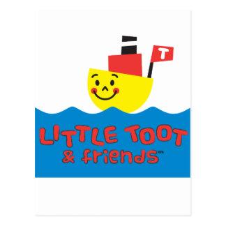 LITTLE TOOT & FRIENDS POSTCARD