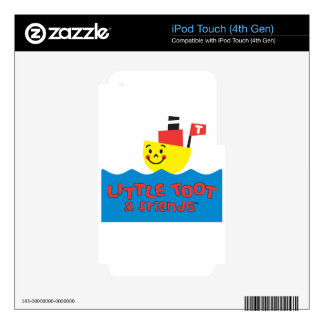 LITTLE TOOT & FRIENDS SKIN FOR iPod TOUCH 4G