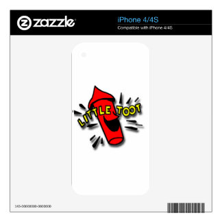 Little Toot Tug Boat Retrobrands Decals For The iPhone 4S
