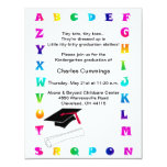 Little Tots Kindergarten Graduation Announcement