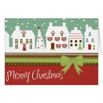 Little Town Christmas Card