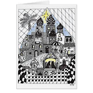 Little Town of Bethlehem Christmas Card