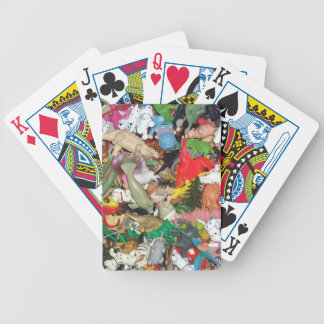 Little Toy Animals Pile Deck Of Cards