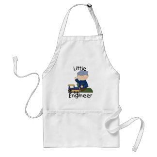 Little Train Engineer T-shirts and Gifts Adult Apron