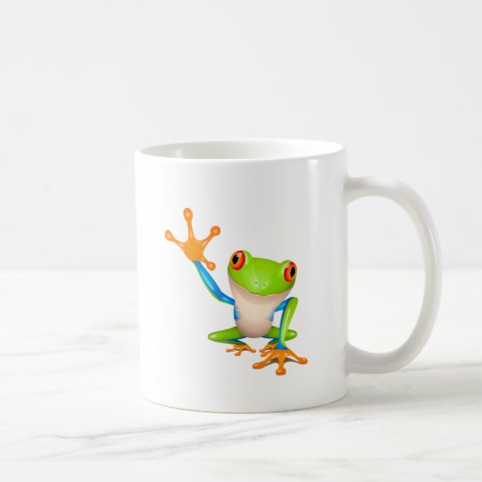 Little tree frog coffee mug