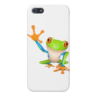 Little tree frog iPhone SE/5/5s case