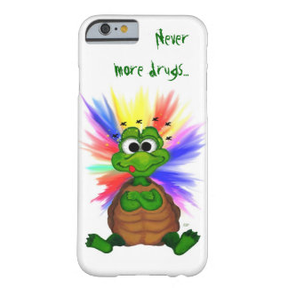 Little Turtle , Never more drugs… Barely There iPhone 6 Case