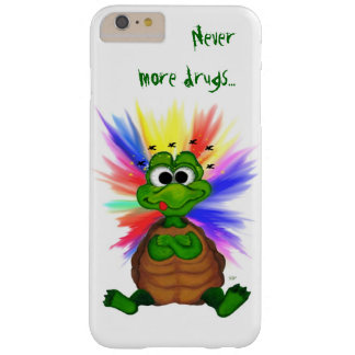 Little Turtle , Never more drugs… Barely There iPhone 6 Plus Case