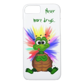 Little Turtle , Never more drugs… iPhone 8/7 Case