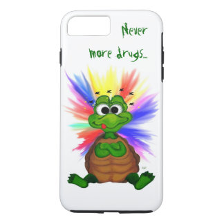 Little Turtle , Never more drugs… iPhone 8 Plus/7 Plus Case