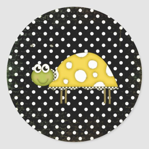 Little Turtle sticker
