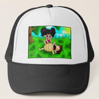 Little turtle trucker hat