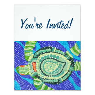 Little Turtle with Many Spots Card