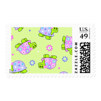 little turtles postage