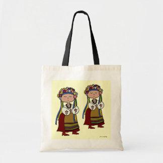 Little Ukrainian Dancer Ukrainian Folk Art Tote Bag