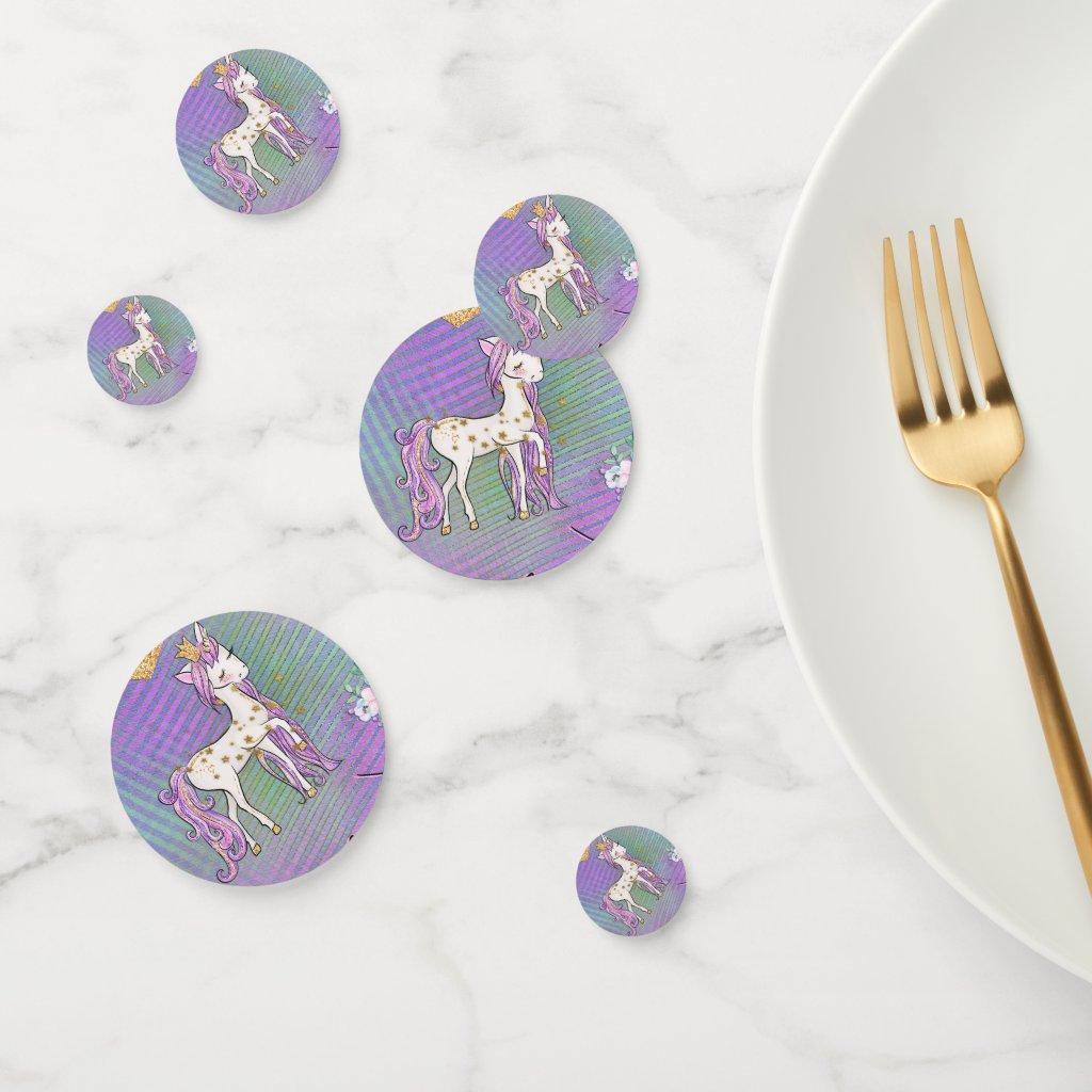 Little Unicorn Princess Confetti