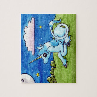 Little Unicorn Wishing on stars Puzzles