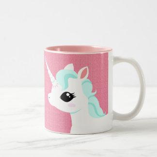 Little Unicorn with blue mane mug
