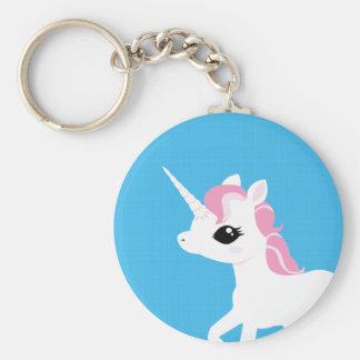 Little Unicorn with Pink mane keychain