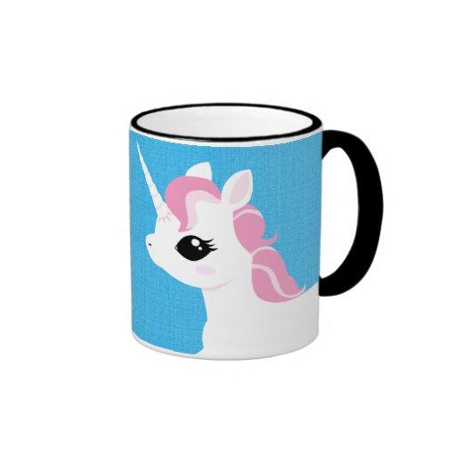 Little Unicorn with Pink mane mug