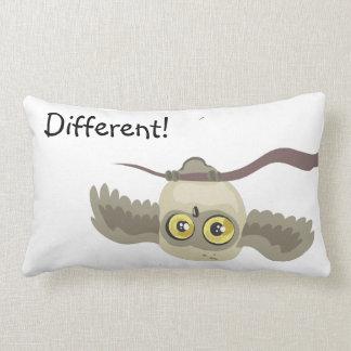 little upsidown owl~ Different!~ pillow